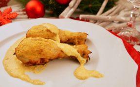 pollo ruspante in salsa reale