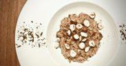 risotto cacao e brie