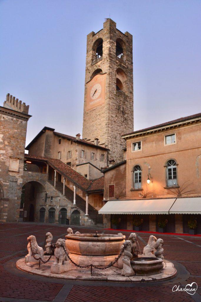 Bergamo Torre civica Piazza Vecchia