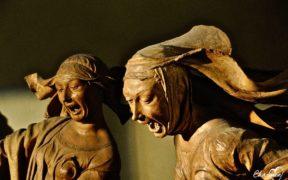 Compianto sul Cristo morto Maria Maddalena e Maria di Cleofa