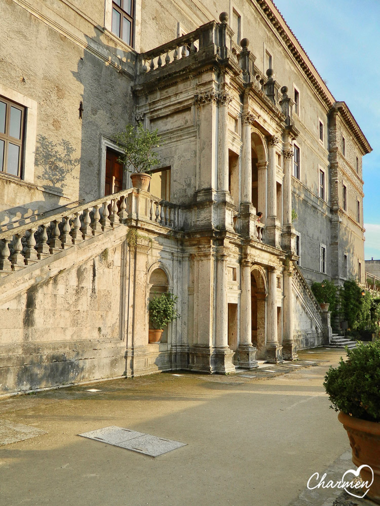 Villa d'Este Tivoli facciata villa