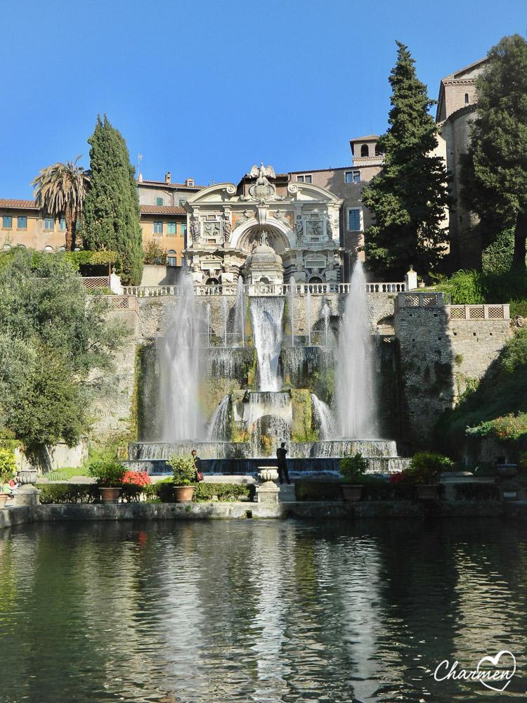 Villa d'Este Tivoli fontana dell'Organo