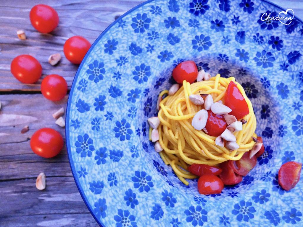 spaghettoni alla curcuma