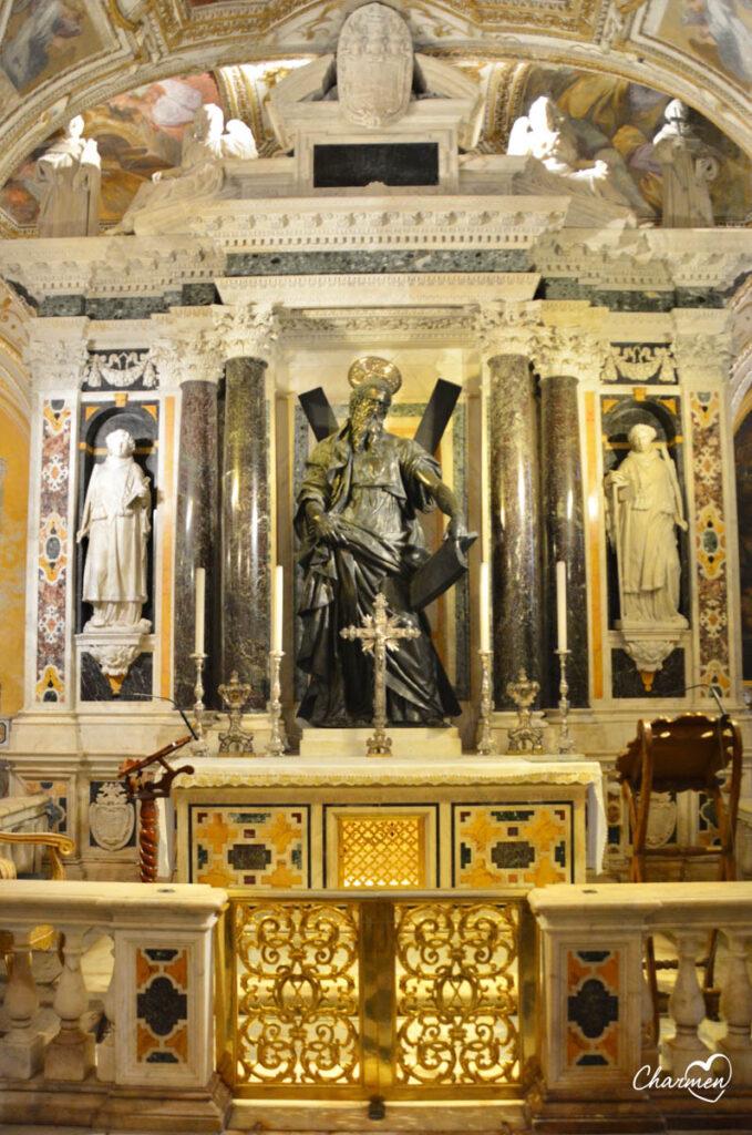 Cripta Basilica Sant'Andrea Amalfi