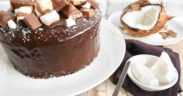 Chiffon cake cocco e cioccolato