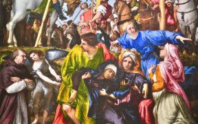Lorenzo Lotto, Crocifissione