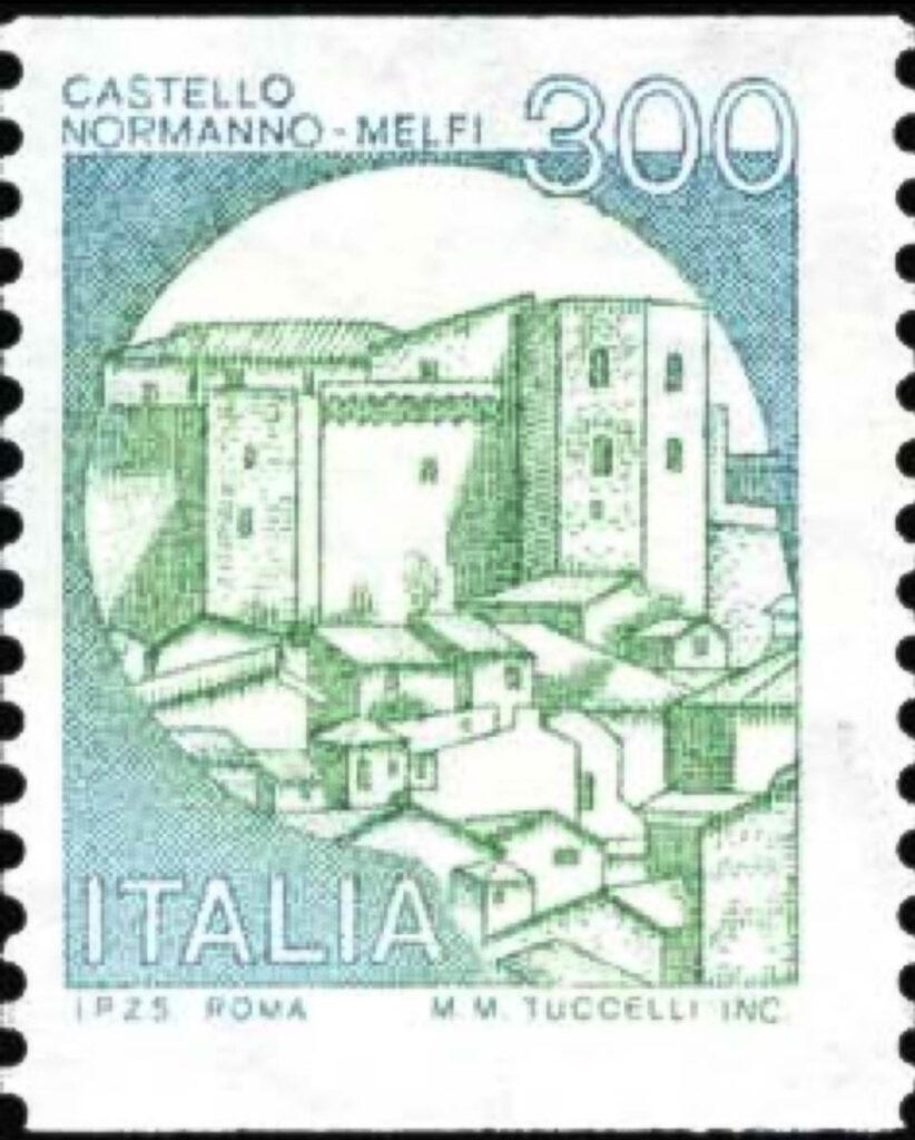 Francobollo Castello Normanno di Melfi