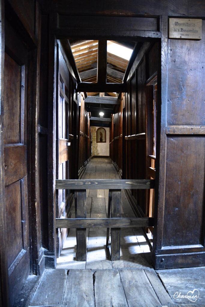Santuario Greccio dormitorio di san Bonaventura