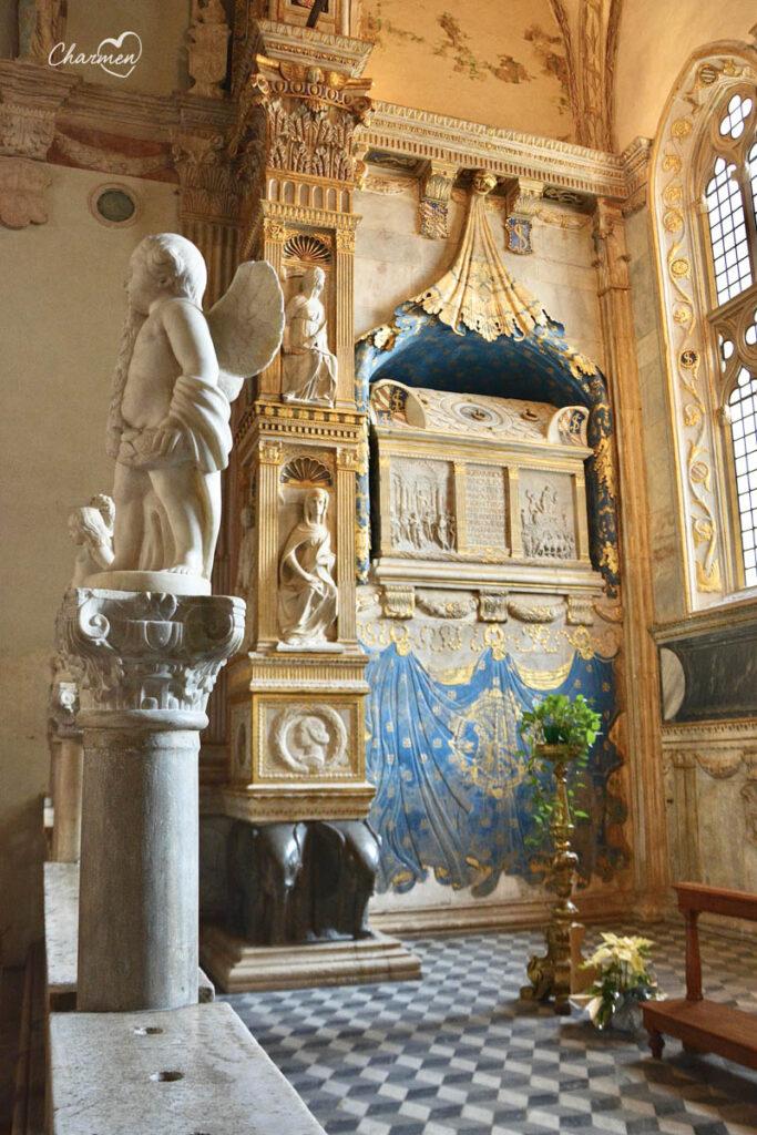 Tempio Malatestiano interno