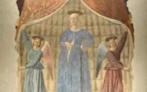 Madonna del Parto, Piero della Francesca, Monterchi