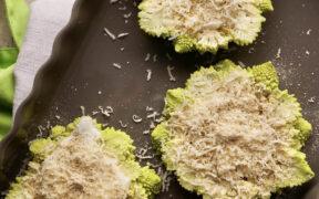 Broccolo romanesco gratinato