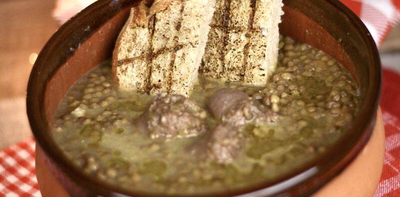 lenticchia e salsicce