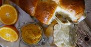 Pan brioche all'arancia