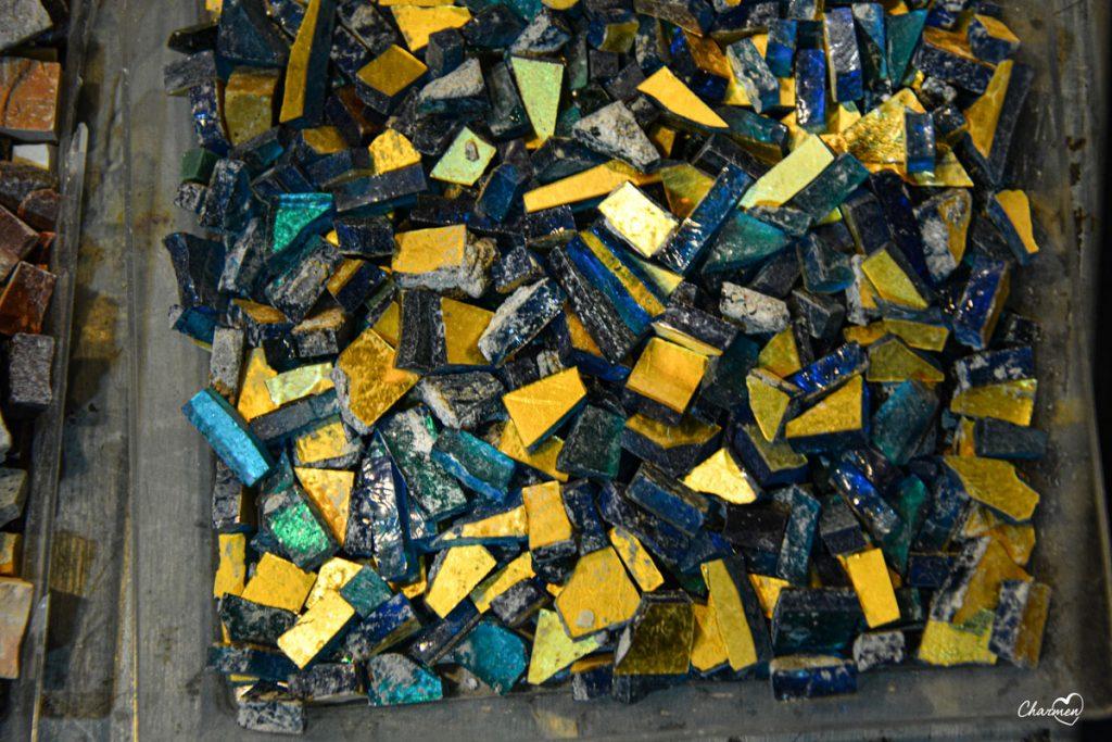 Tessere per mosaico Studio Cassio Roma