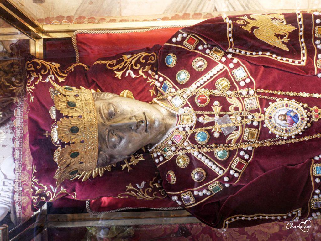 Venezia reliquie Sant'Elena
