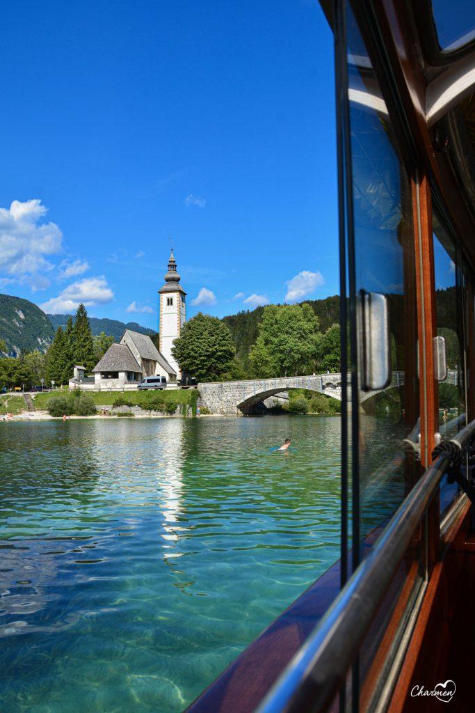 Bohinj lago e chiesa San Giovanni