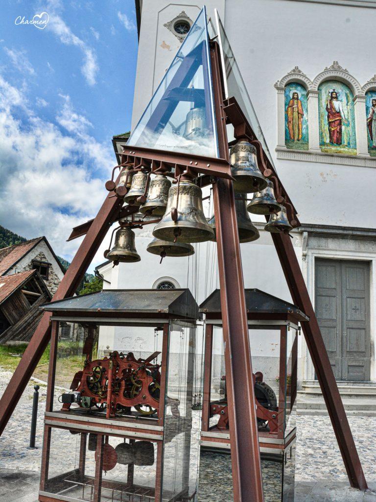 Pesariis Orologio monumentale Carillon