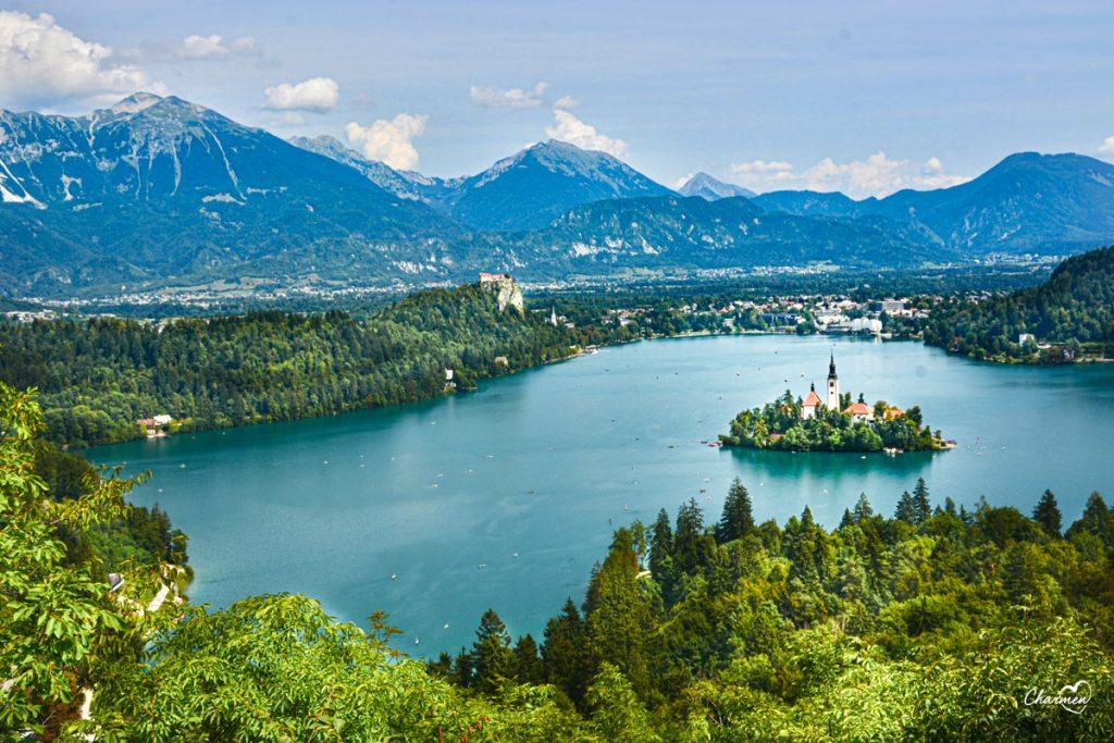 Lago di Bled da Ojstrica